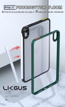 Ốp chống sốc iPad mini 6 - LIKGUS viền màu